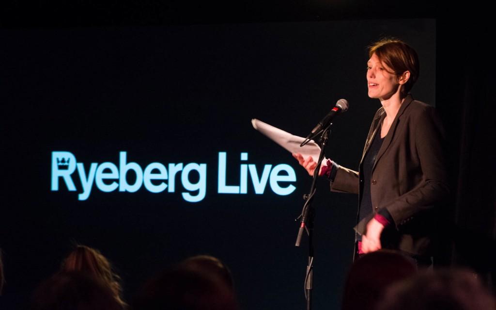 Joanna Kavenna - Ryeberg Live Banff 2013