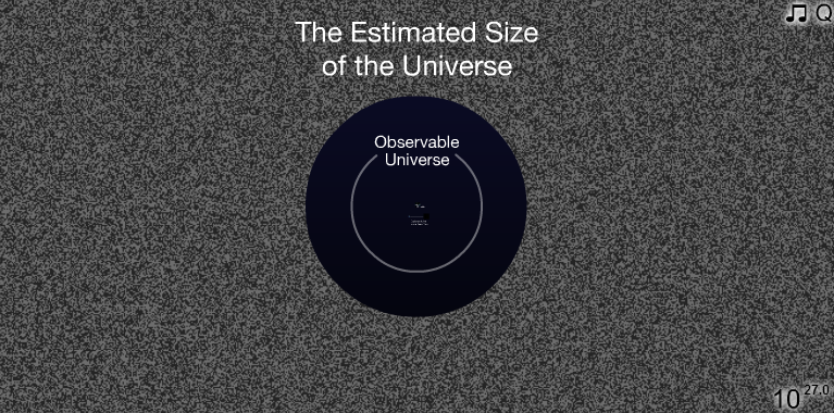 size-of-the-universe