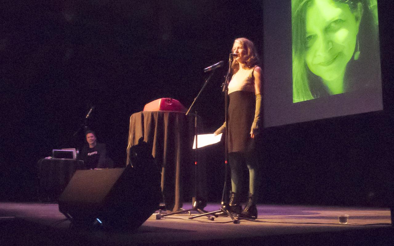 Zsuzsi Gartner at Ryeberg Live Vancouver 2014